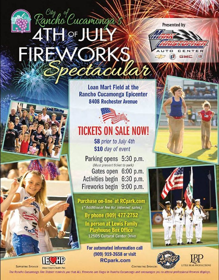 4th of July 2014 Information for