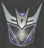 Decepticon insignia - Soundwave (TFP) by LadyIronhide