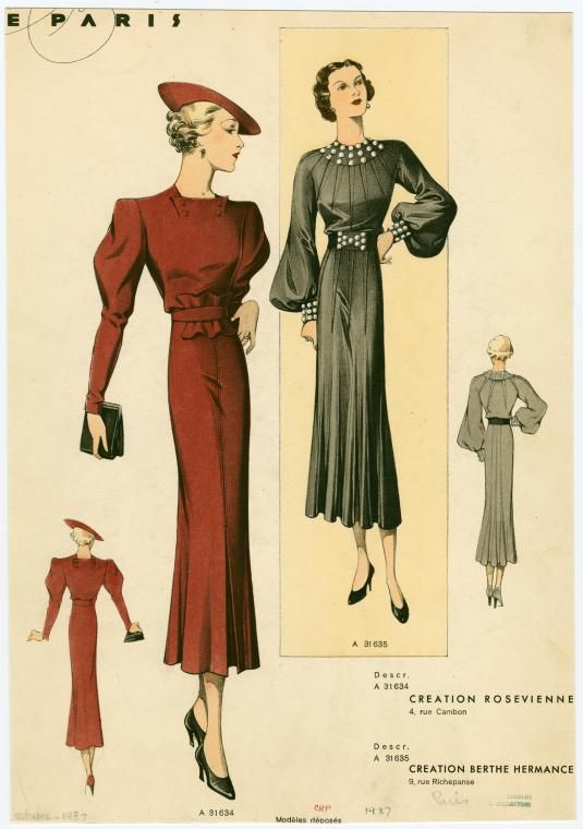 1930's Costumes and the New York Public Library | Across the Pond and Back Again