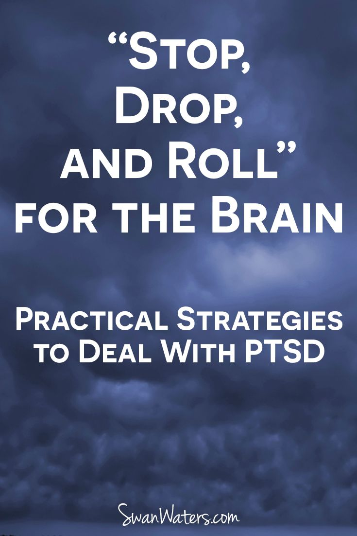 I'm going to give you primer on how to begin using these skills to help with your symptoms. Even if you don't have full-blown PTSD (and I sure hope you don't), these can be adapted to help with any traumatic or high-stress situation.
