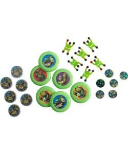 Buy 48 Piece Teenage Mutant Ninja Turtles Party Favours at Argos.co.uk, visit Argos.co.uk to shop online for Party bags, fillers and games