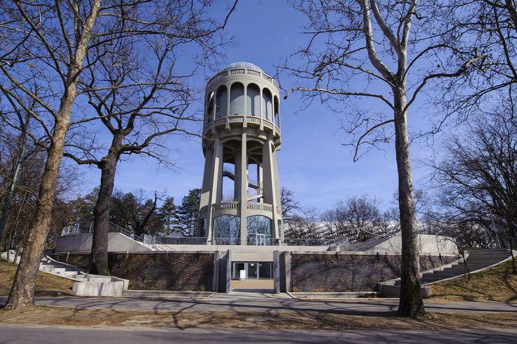 Az Egyedi tervezésű, Nagyerdei Víztorony Debrecenben  Forrás: MTI/Czeglédi Zsolt