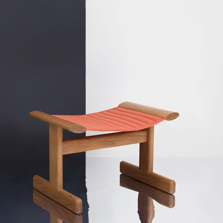 A 1940s Swiss knee-rest for praying was the main influence for the BUE stool, created by product designers Noidoi and industrial design studio Visibility to aid mindful living.