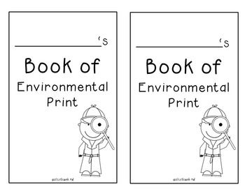 Environmental Print Book Freebie