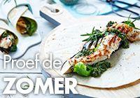 Een overheerlijke bloemkoolsla met venkel en krab, die maak je met dit recept. Smakelijk!