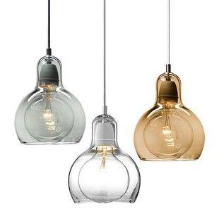 Korte Gepersonaliseerde Grote Bol Hanglamp Kleine Glazen