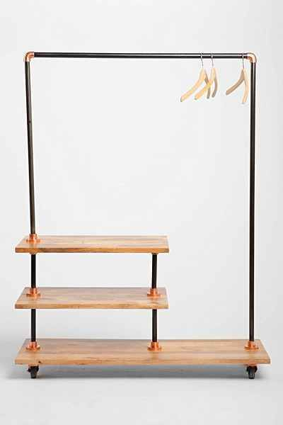 4040 Locust Industrial Storage Rack - Urban Outfitters