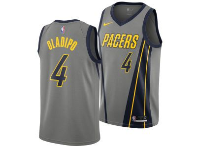 afcbe721b No one knows basketball better than Indiana. Check out the new Indiana  Pacers VICTOR OLADIPO Nike 2018 NBA Men s City Edition Jersey from LIDS.