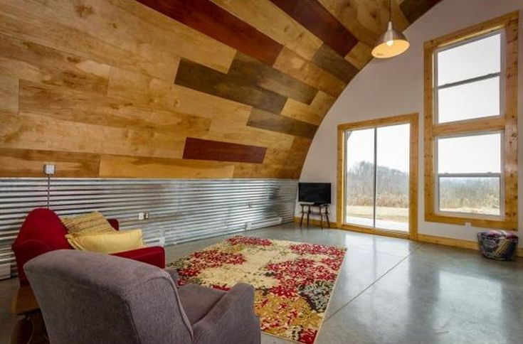 Unique Quonset Hut Home Will Give You Design Inspiration