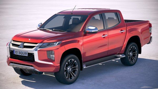Pick Up Truck 3d Models For Download Turbosquid Mitsubishi L200 4x4 Mitsubishi Cars Mitsubishi