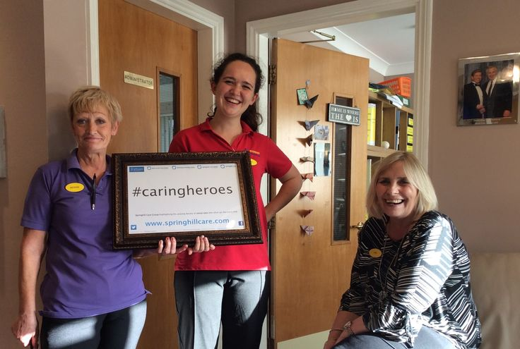 Bernie and Freya are Caring Heroes - Springhill Care Group Lancashire