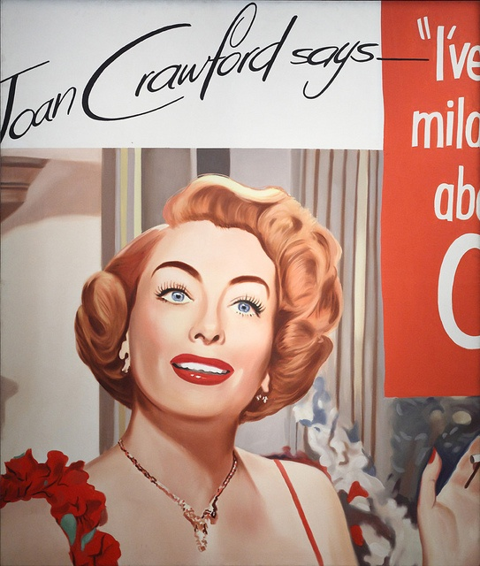 """Untitled (Joan Crawford says)"", 1964. James Rosenquist"