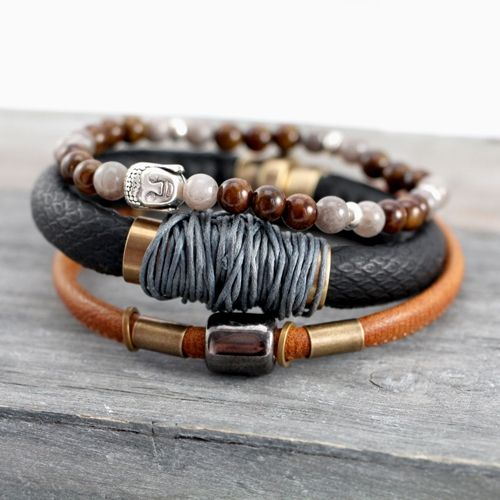 Trendy en stoere sieraden voor mannen