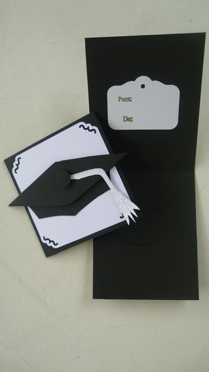 Graduation money card holder 3x3""