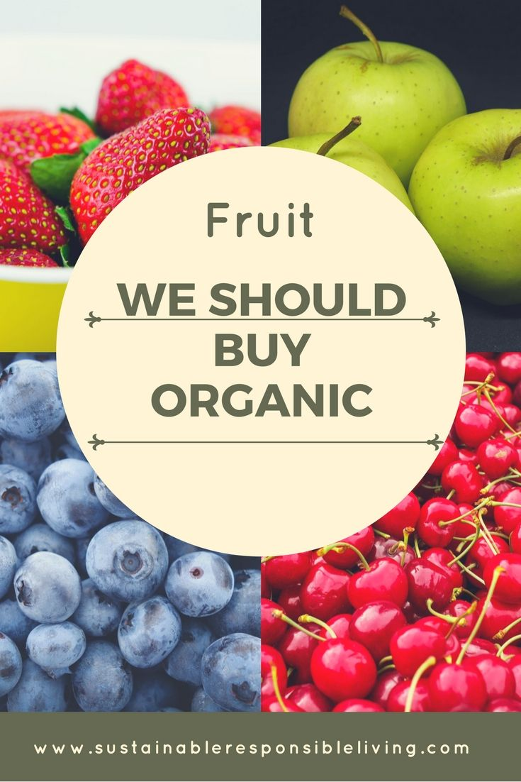 Fruit we should buy organic - read more: => => https://wp.me/p90hGP-5c #healthyfood #healthyeating