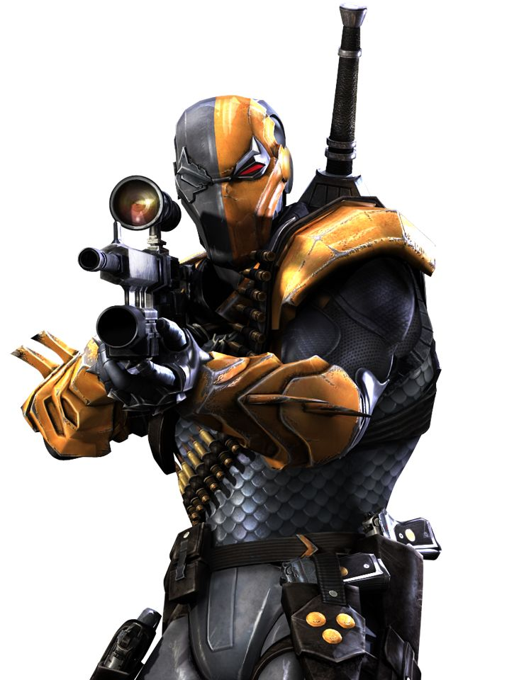 #Deathstroke #Fan #Art. Deathsrokes name :Slade Wilson. (Injustice: Gods Among Us) - DC Comics Database.