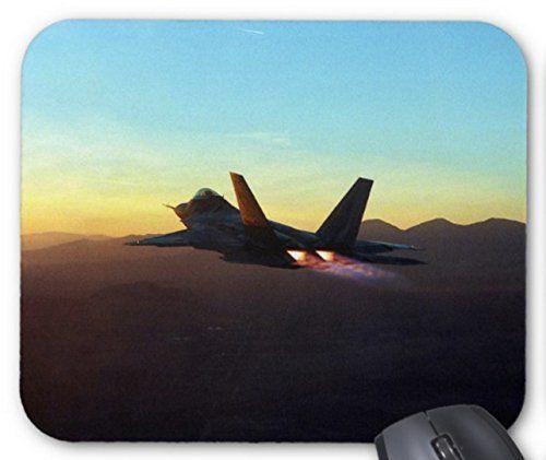 ステルス戦闘機 F22 ラプターのマウスパッド:フォトパッド(世界の戦闘機シリーズ)