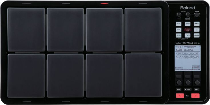 OCTAPAD SPD-30: Digital Percussion Pad - The Reinvention of the OCTAPAD