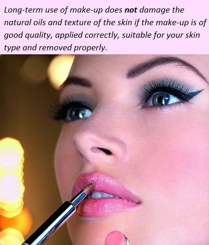 The Good news - Make-up & your skin health #skincare #beautytip