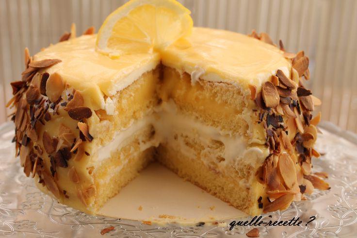 Gâteau aux citrons
