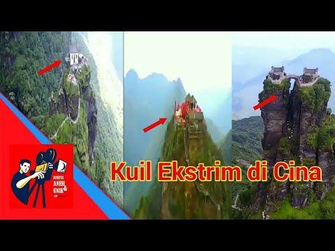 Ckckckck! Kuil Ekstrim Ini Ada Persis Di Atas Puncak Gunung