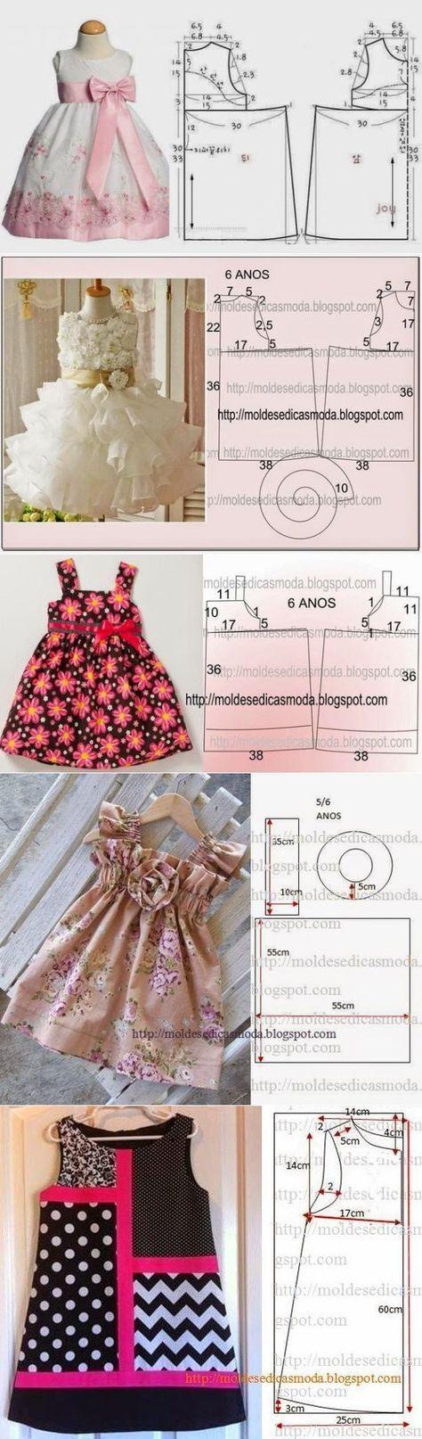 Нарядные платья для девочек :))) Could I get a translation?