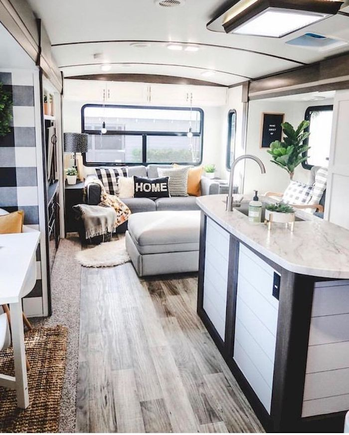 35 Monochrome Rv Decor Idea To Create Beautiful Ambience