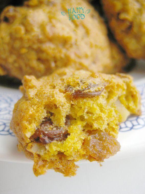 Тыквенное овсяное печенье