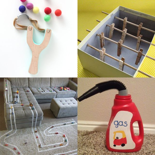 12 tuti DIY-játék a szobában