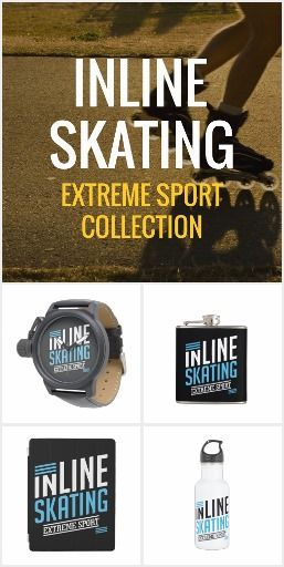 Inline Skating Extreme Sport Collection