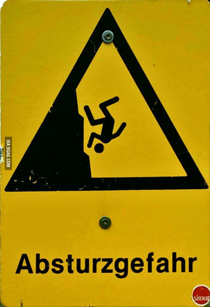 High cognitive effort. It's easy to see that this is some sort of warning sign. But, it is unclear as to what the warning is for.
