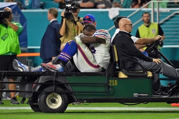 X-rays come back negative on LeSean McCoy