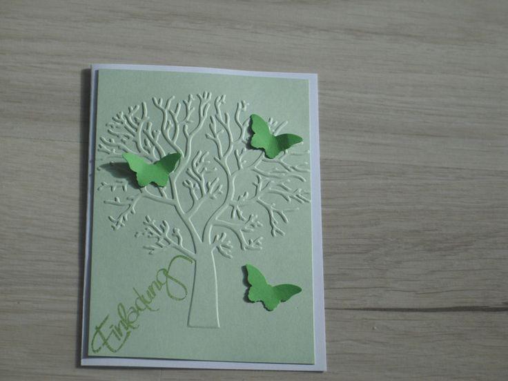 Einladungskarten - Exclusive Einladung zur Taufe/ Geburtsanzeige - ein Designerstück von Twinsandmore bei DaWanda