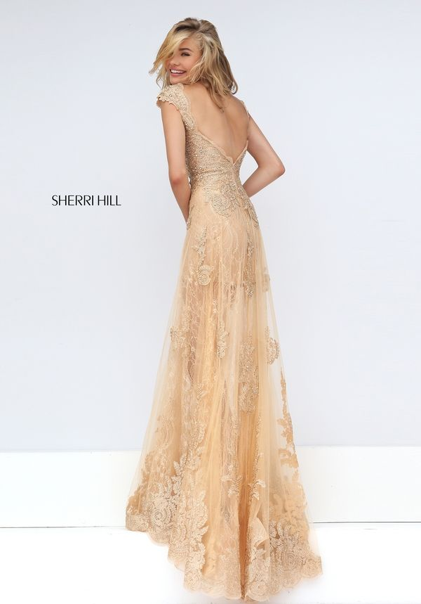 Sherri Hill 50176 lace prom dress. https://www.pinterest.com/behzadj/jovani-prom-dresses/, https://www.pinterest.com/behzadj/blush-prom-dresses/ or https://www.pinterest.com/behzadj/alyce-paris-prom/ for other open back prom dresses. Sherri Hill is selling out fast.