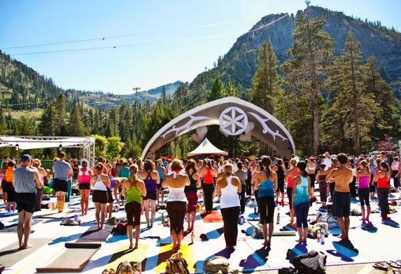 Wanderlust Festival at Squaw Valley. A multi-day #yoga and #music #festival.