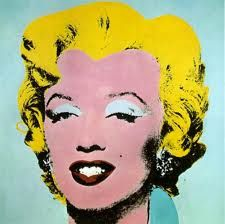 Marilyn by Andy Warhol. I almost had my camera confiscated at the Warhol Museum in PA. lol.