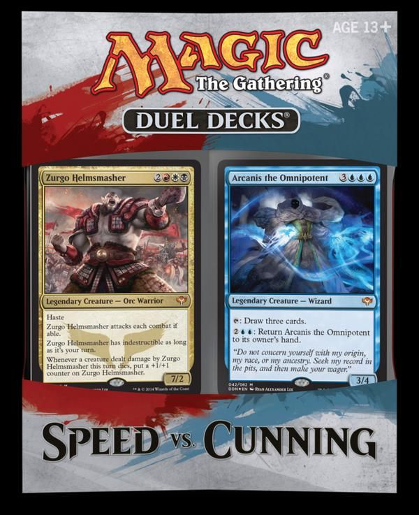 Magic the Gathering Speed vs Cunning Duel Decks RELEASES 9-5