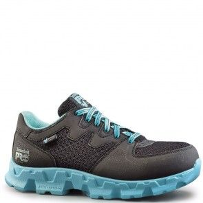 092668001 Timberland Pro Women's Powertrain SD Safety Shoes - Black