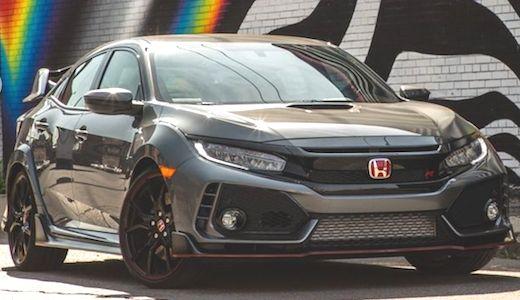 Best images of Honda Civic Type-R Matte Black Colour ...