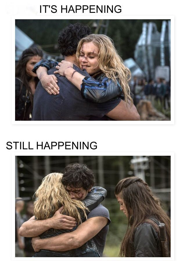 Why do you think all of their lovers are dead? It's happening. Fans can't deny Bellarke