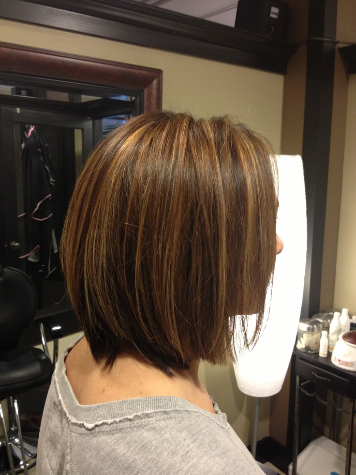 Razor cut; fine highlight Hair by Alexis Schorner | Work ...