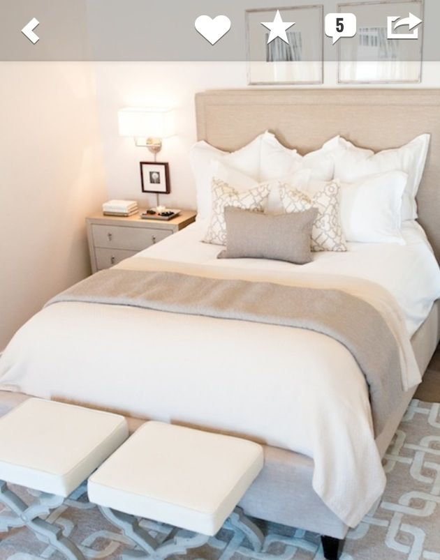 1000 images about home bedroom on pinterest neutral for Warm neutral colors for bedroom