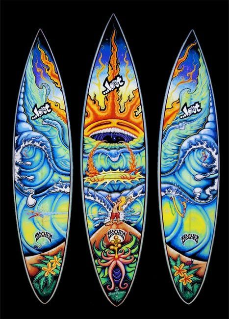 Surfboards-- Drew Brophy Boards