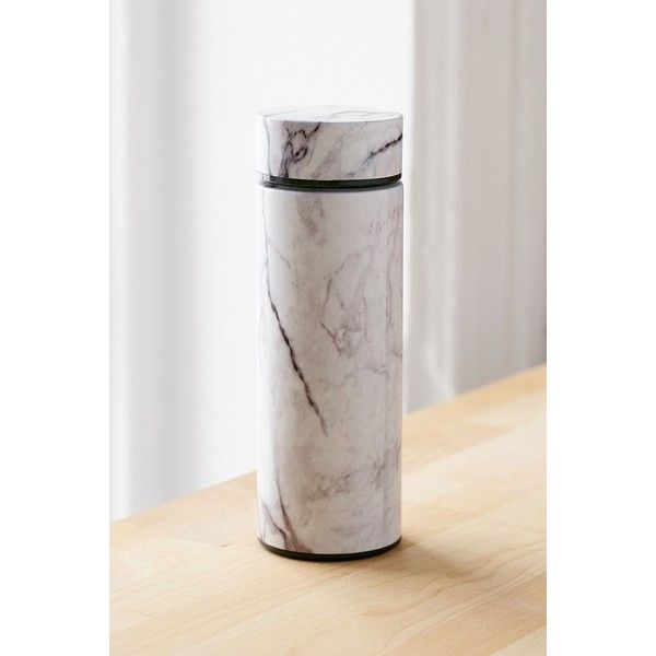 Travel Mug (540 UYU) ❤ liked on Polyvore featuring home, kitchen & dining, drinkware, stainless coffee mug, modern coffee mugs, urban outfitters, stainless steel coffee mug and stainless travel mug