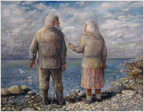 старики в живописи - Поиск в Google