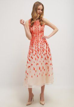 LK Bennett - GEORGIA - Długa sukienka - tomato