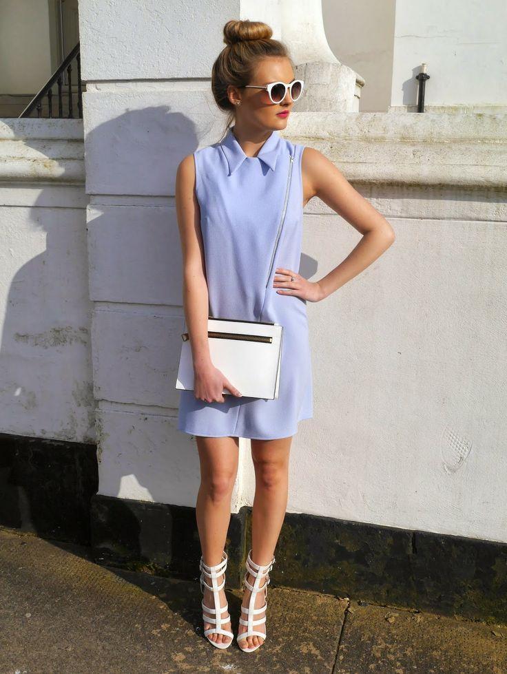 Pastel Blue Biker - Lady Smart