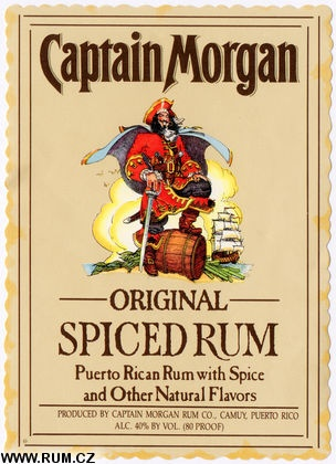 Spiced Rum :) Hurry up Friday!  I need to reconnect with the Capt'n!