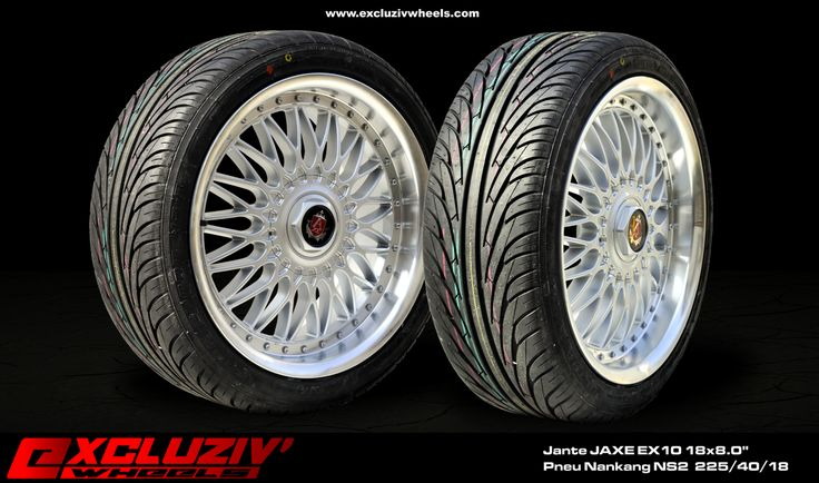 jantes axe ex10 18x8 0 pneus nankang ns2 225 40 18 excluziv 39 wheels jantes pneus. Black Bedroom Furniture Sets. Home Design Ideas