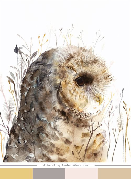 Beautiful piece of work - and a great site for all things owls